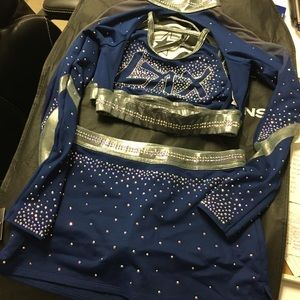 GK ELITE Brand New LAX Cheer Uniform